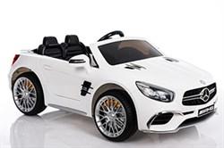 Электромобиль Mercedes-Benz SL65 XMX602 белый глянец - фото 15613