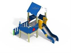 Детский игровой комплекс Мини ДПС Н=900 ДИК 2.132 - фото 15761