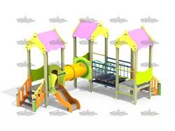 Детский игровой комплекс Атракцион Н=700 ДИК 3.08-К16 - фото 15766