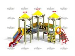 Детский игровой комплекс Форпост Н=1200 ДИК 3.117 - фото 15768