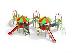 Детский игровой комплекс Н=1500,1800  ДИК 4.183 - фото 15779