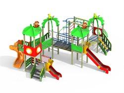 Детский игровой комплекс Зоопарк большой Н=1500, 1800 ДИК 4.215 - фото 15781