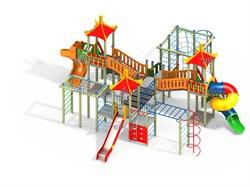 Детский игровой комплекс Н=1500, 1800 ДИК 5.053 - фото 15784