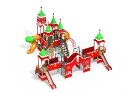 Детский игровой комплекс Н=1500, 2000 мм ДИК 8.03 - фото 15788