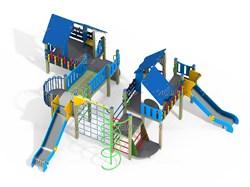 Детский игровой комплекс ДПС Н=1200 ДИК 9.161 - фото 15794