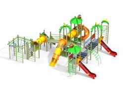 Детский игровой комплекс Баунти Н=1500, 1800 ДИК 9.202-К16 - фото 15796