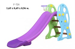 Детская горка F-724 - фото 15827