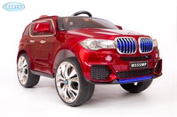 Электромобиль BARTY BMW X5 (М555МР) кузов F-15 performance, Вишня, Глянцевый - фото 16947