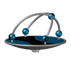 ДИО 2.32.01 Карусель платформа с шарами нерж - фото 17356