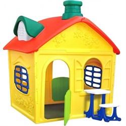 Детский игровой домик Замок пластиковый ОТ-16 - фото 17480