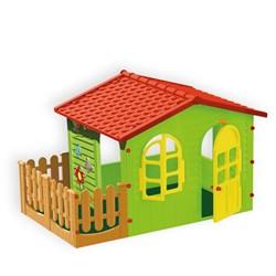 Домик с забором садовый Mochtoys 10498 - фото 17483
