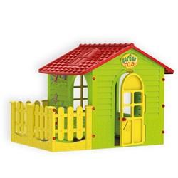 Домик с забором Mochtoys 10839 - фото 17485