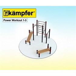 Воркаут площадка Kampfer Power Workout 1-3 - фото 17798