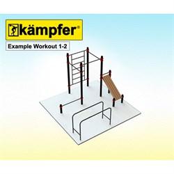 Воркаут площадка Kampfer Example Workout 1-2 - фото 17800