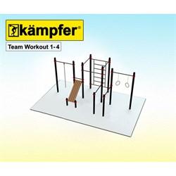 Воркаут площадка Kampfer Team Workout 1-4 - фото 17802