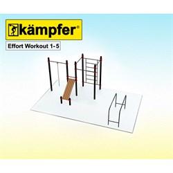 Воркаут площадка Kampfer Effort Workout 1-5 - фото 17804