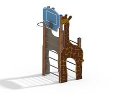 СО 1.261-с26/8,32 Спортивный комплекс Жираф коричн-голуб - фото 17975
