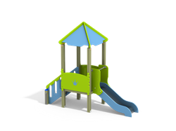 ДИК 1.092 Детский игровой комплекс Экоград Н=700 - фото 18010