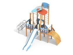 ДИК 3.051-с26/8,32 Детский игровой комплекс Развитие Эко Н=1500 мм - фото 18016