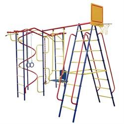 Детский спортивный комплекс Пионер Вираж дачный плюс со спиралью - фото 18291