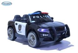 Электромобиль  BARTY Dodge Police Б007OС черно-белый - фото 19136