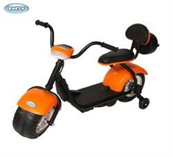 Детский электромотоцикл CityCoco BARTY YM708 оранжевый - фото 19203
