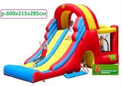 Батут - горка для детей 9082n - фото 3902