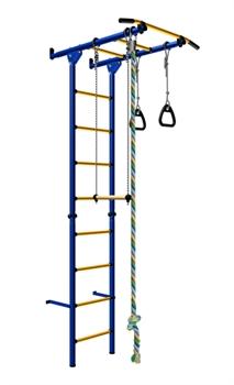 Детский спортивный комплекс Карусель 1 ДСКМ-2C-8.00.Г3.410-11-11new (ступени металл) - фото 4190