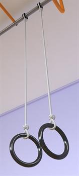 Кольца гимнастические круглые - фото 4245