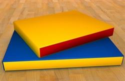Мат гимнастический 1м х 1м - фото 4257