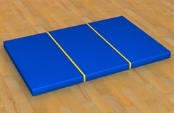 Мат гимнастический (складной) 1м х 1,5м - фото 4258