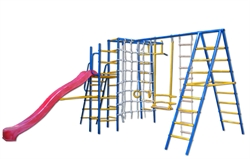 Уличный детский спортивный комплекс Kampfer Total Playground - фото 4422