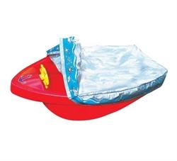 Детская пластиковая песочница мини-бассейн Лодочка с покрытием Marian Plast 311 - фото 4468