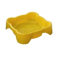 Детская пластиковая песочница мини-бассейн Песочница квадратная Marian Plast 374 - фото 4479