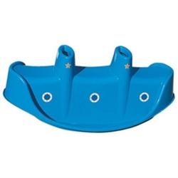 Детская пластиковая качалка Пароход 3-ёх местная Marian Plast 309 - фото 4483