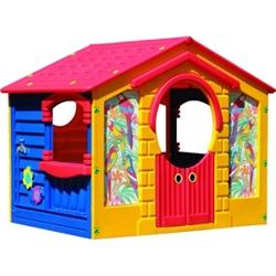 Детский пластиковый домик Коттедж Marian Plast 560 - фото 4505