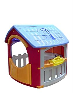 Детский пластиковый домик Мастерская Marian Plast 664 - фото 4551