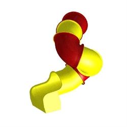 Горка труба винтовая диам. 850мм с 2.2 м. - фото 4900