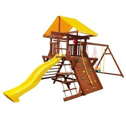 Детская площадка Солнышко 8-1.50м со столиком и лавками. - фото 5254