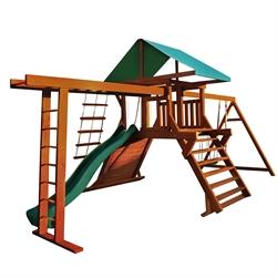 Детская площадка Солнышко 8-1.50м без колеса, с рукоходом. - фото 5255