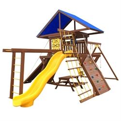 Детская игровая площадка Солнышко 10-1.80м с рукоходом. - фото 5259