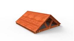 Крыша деревянная для дип - фото 5299