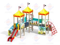 ДИК 3.115 Детский игровой комплекс - фото 5615