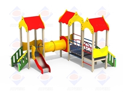 Детский игровой комплекс H-700 - фото 5679