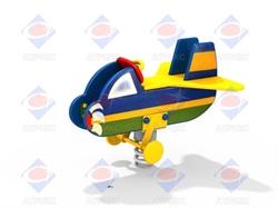 Качалка на пружине Самолёт ДИО 4.09 - фото 5808