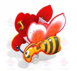 Качалка на пружине Пчёлка ДИО 4.111 - фото 5812
