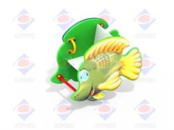 Качалка на пружине Рыбка ДИО 4.13 - фото 5820