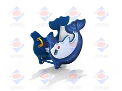 Качалка на пружине Дельфин ДИО 4.14 - фото 5822
