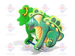 Качалка на пружине Динозаврик ДИО 4.16 - фото 5826