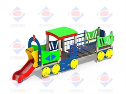 Паровоз с 1 вагоном МФ 4.04 - фото 5904